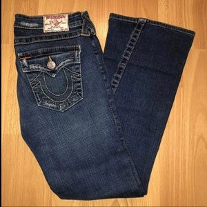 True Religion Flap Pocket Jeans Sz 27